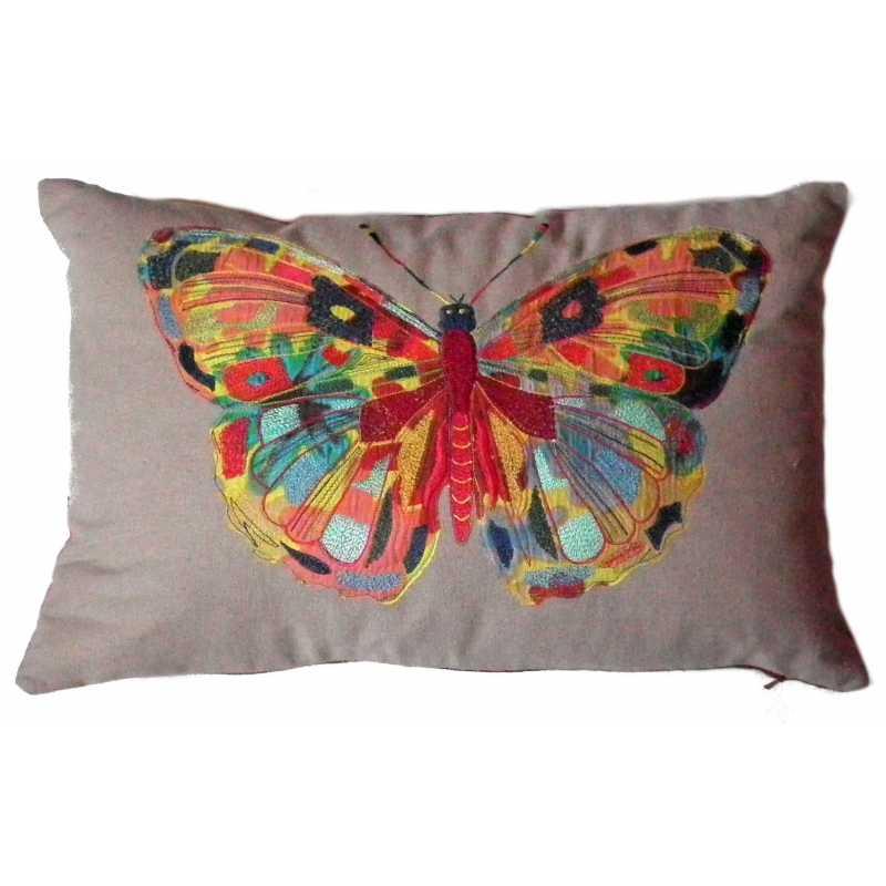 décor grand papillon