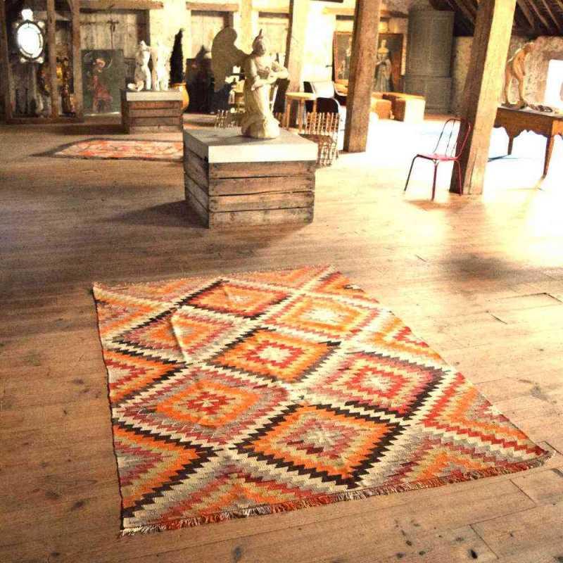 Kilim traditionnel turc