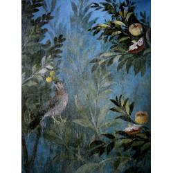 Oiseau dans un pommier :...