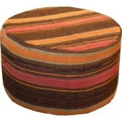 pouf kilim turc