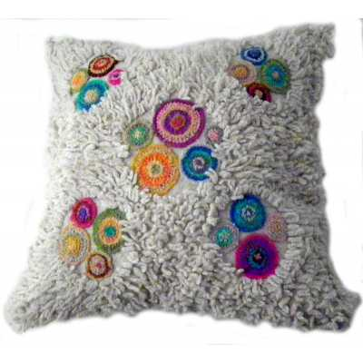 coussin en laine 40 x 40 cm