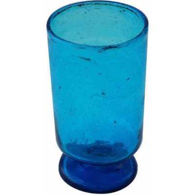verre à pied verre bullé