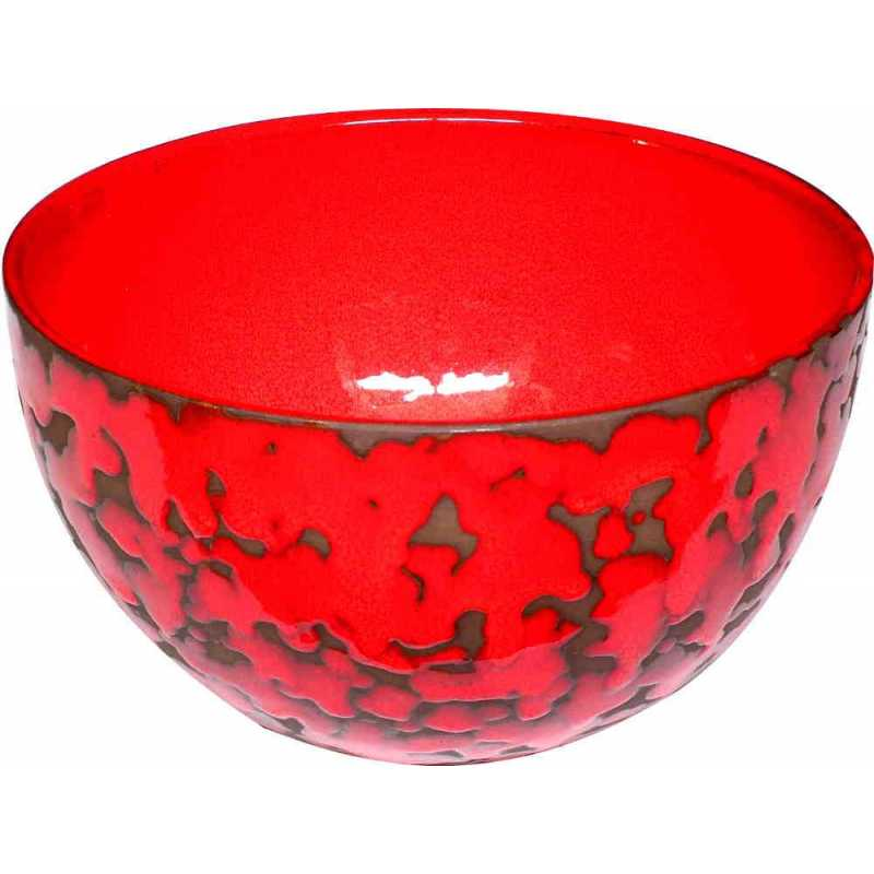 saladier couleur rouge