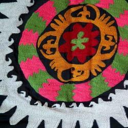 tissu symbole fleurs