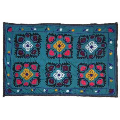 suzani tissu décoration vintage