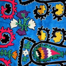 déco tapisserie bleue