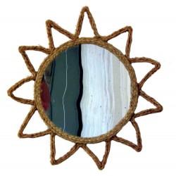 miroir décoratif soleil