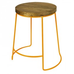 Tabouret design coloré