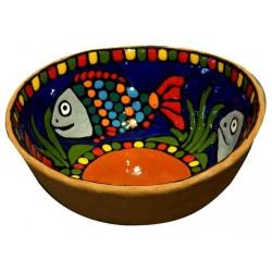 bol en céramique décoré