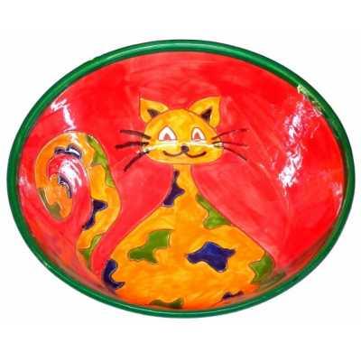 coupelle céramique chat