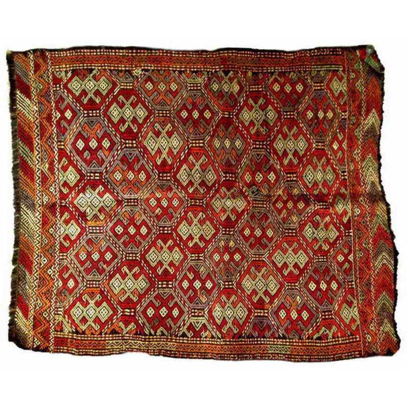 Tapis kilim turc 151x122cm