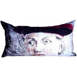 Coussin fresque italienne homme