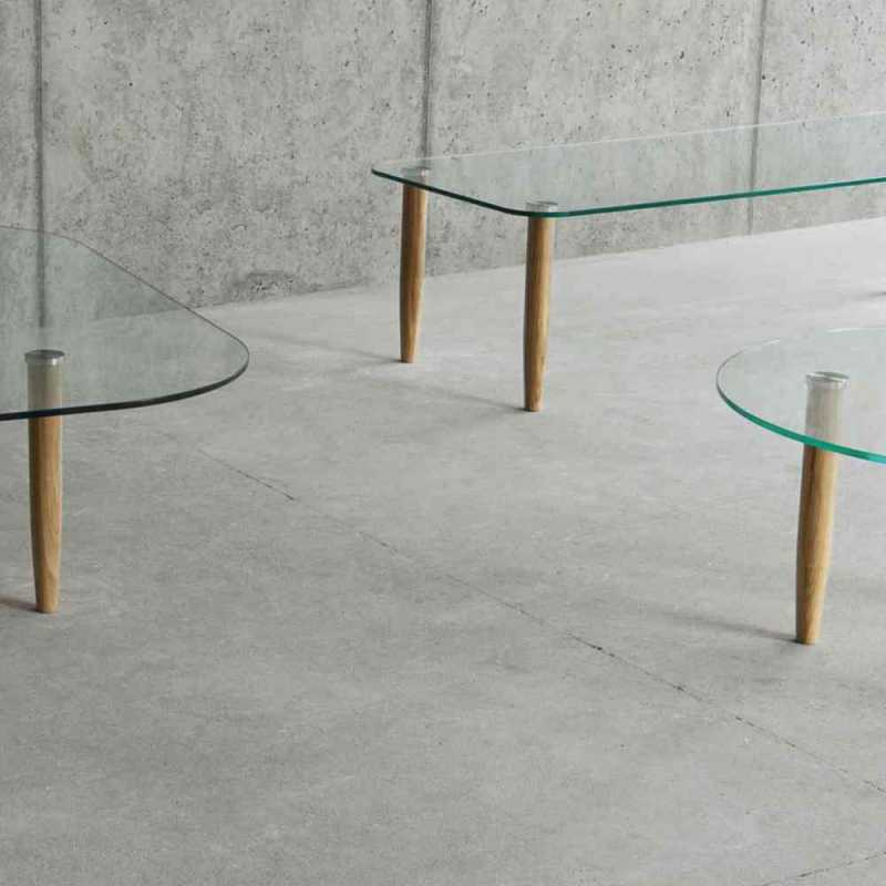 table basse CRISTAL
