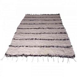 tapis en coton scandinave