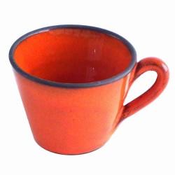Grande tasse à café fine et...
