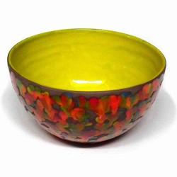 petit saladier moucheté multicolore