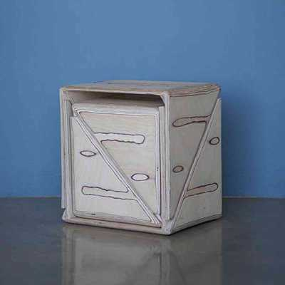 cube tabourets russes