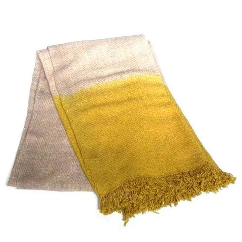 Plaid tie dye en coton