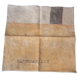 Serviette en lin design indsutrielle