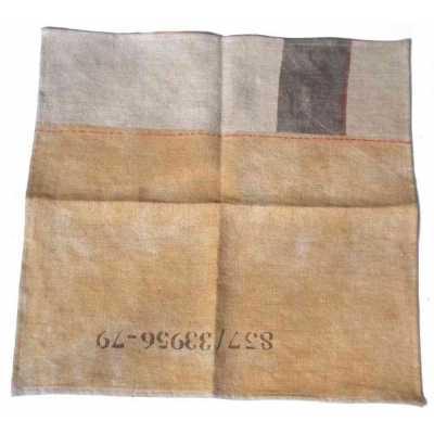 serviette en lin design indsutrielle