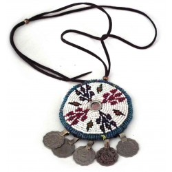 Collier tribal afghan...