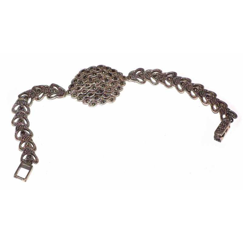 Bracelet pierre et argent