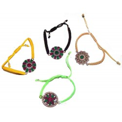 Bracelet artisanal en argent