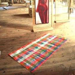 Tapis Patchwork laine et coton