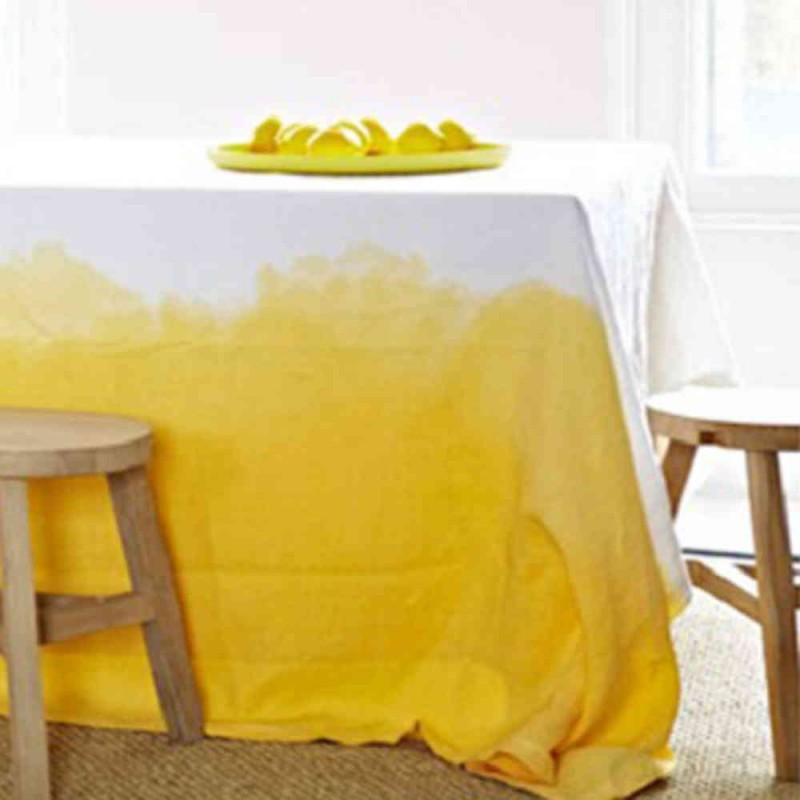 tie and dye jaune